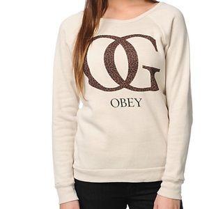 ⚡️ Obey OG Leopard Sweatshirt⚡️